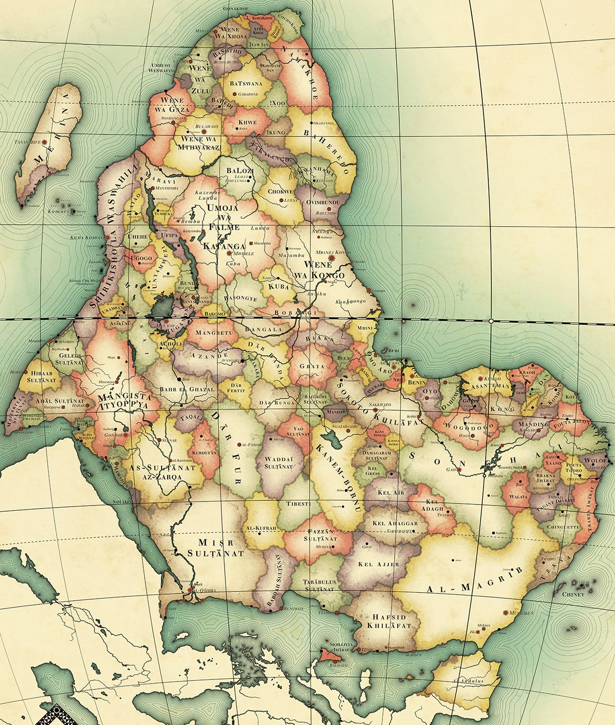 L'Afrique des califes et émirs, 1ère partie