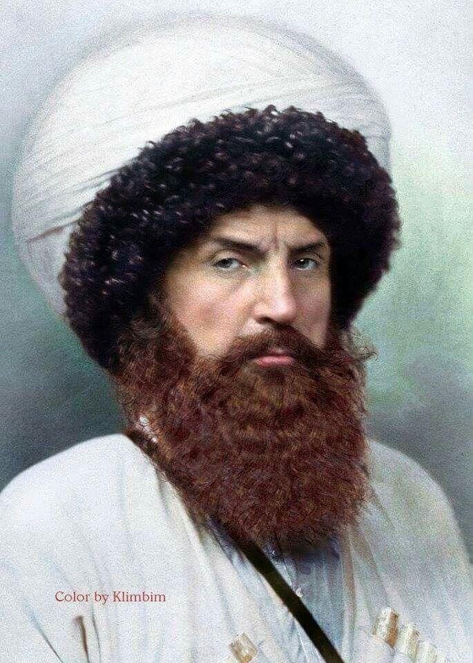 L'imam Shāmil, mujahid du Caucase