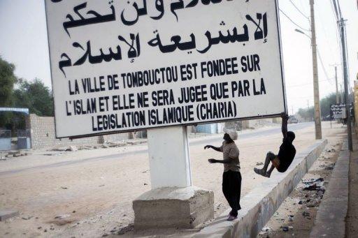 Jihad au Mali, le jeu des mots et images
