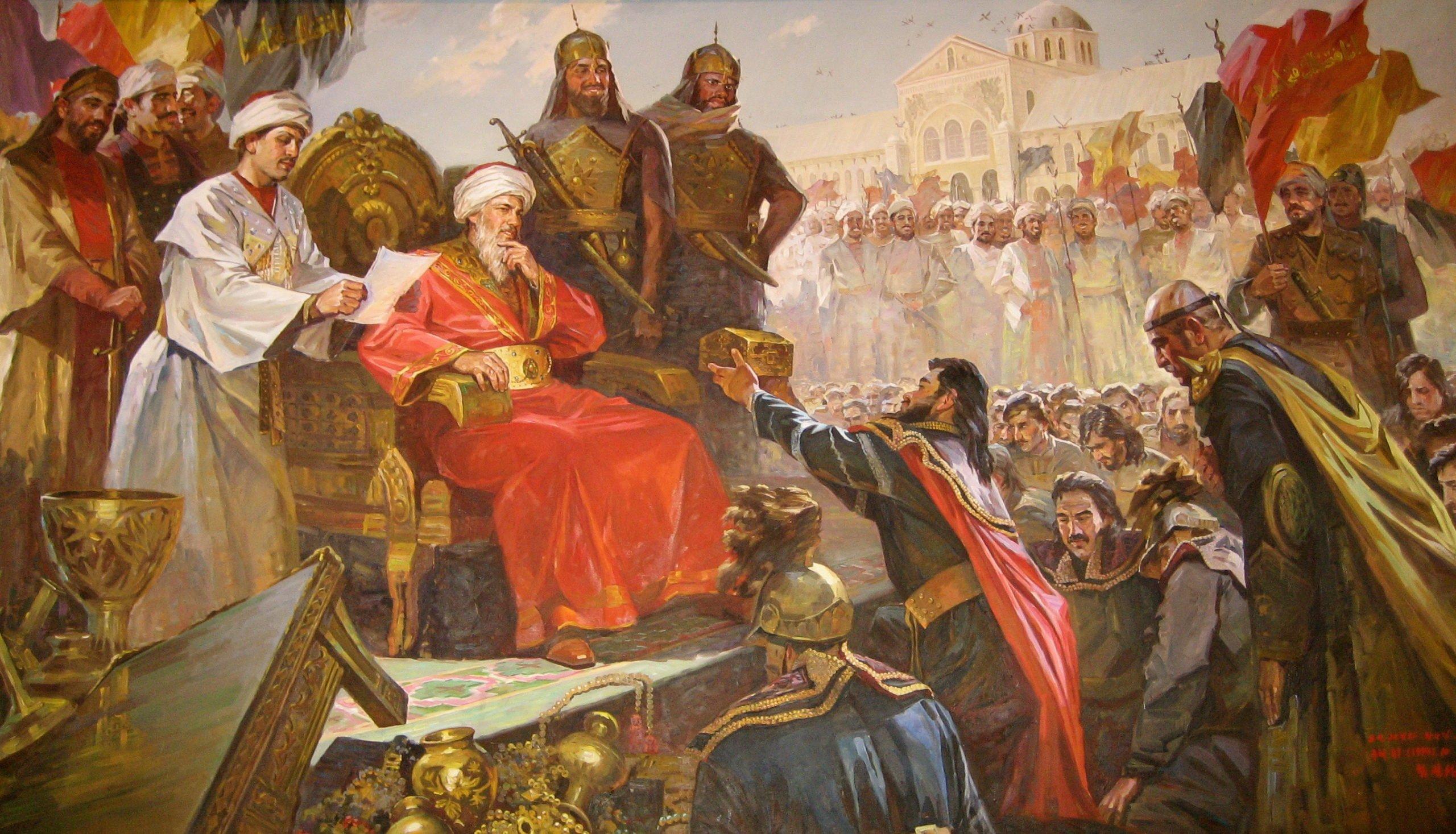 Du royaume de France et ses Omeyyades