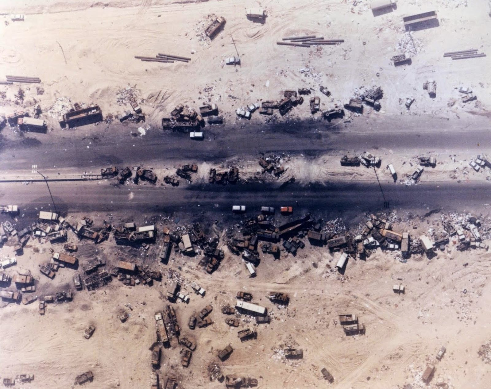 Irak, Highway of death