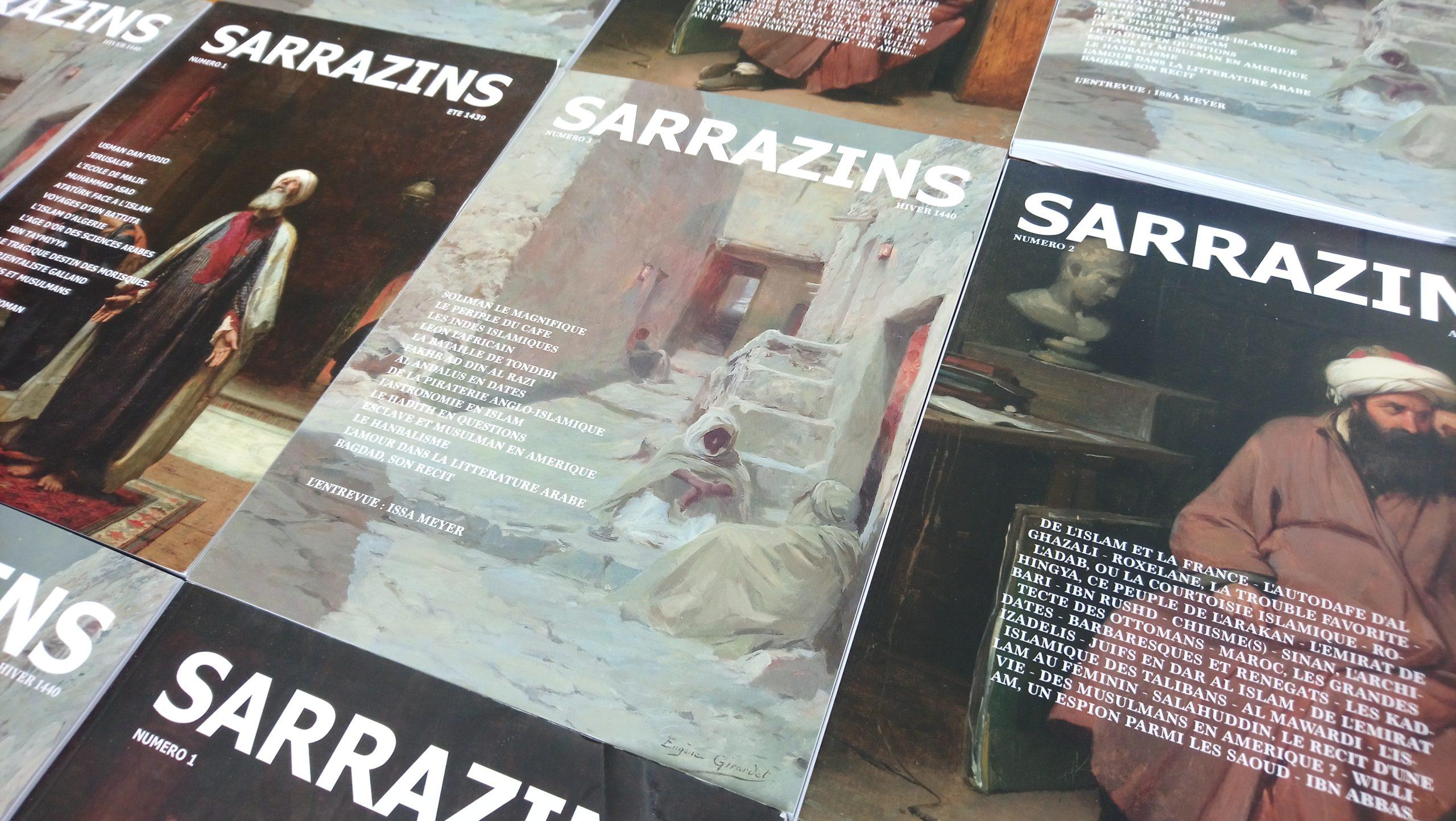 Sarrazins, votre revue, en papier, chez vous