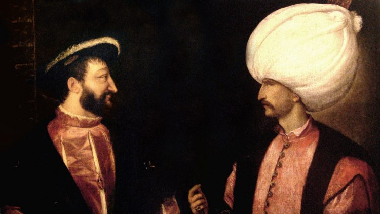 Lettre de Soliman à François 1er