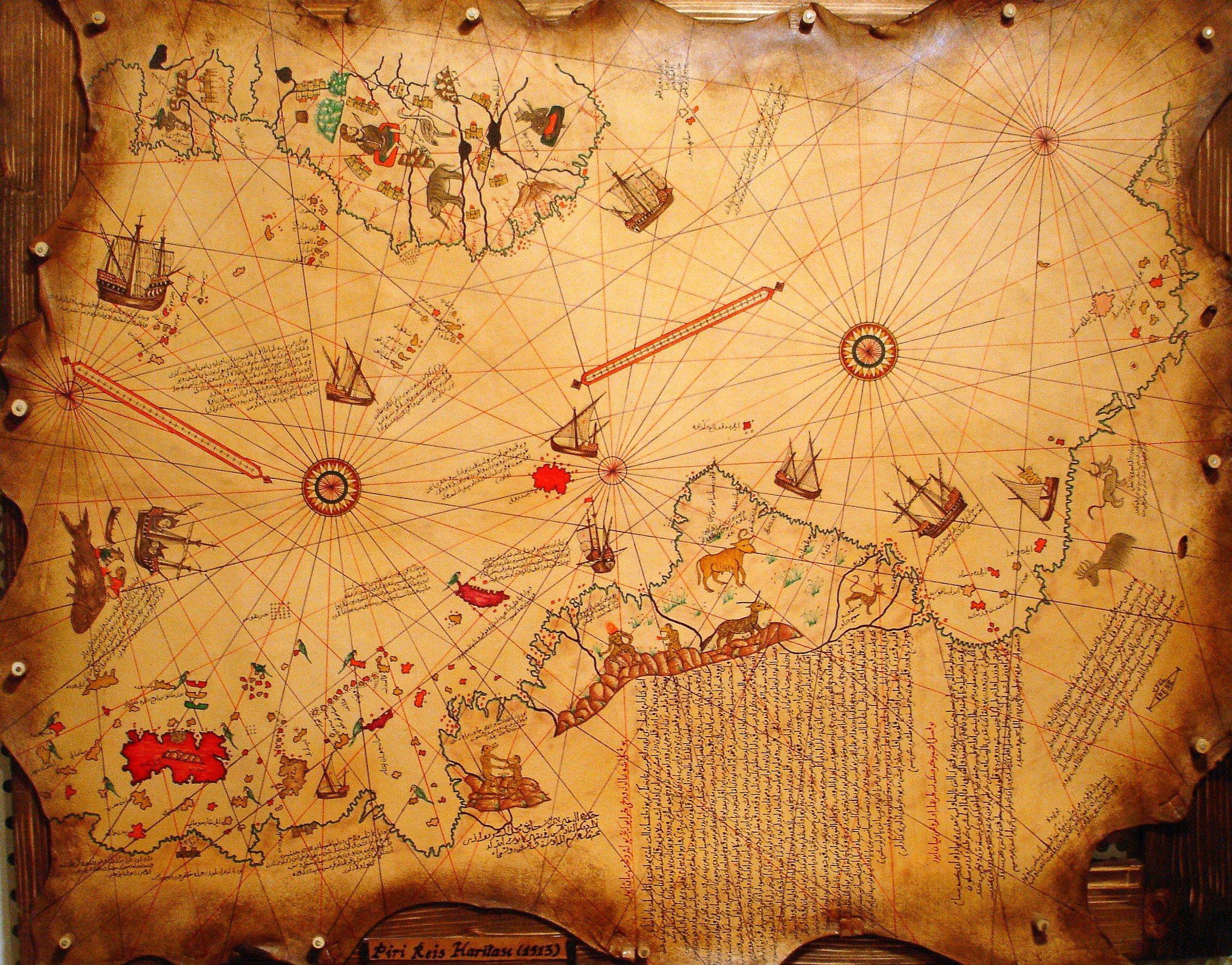 Le monde de Piri Reis