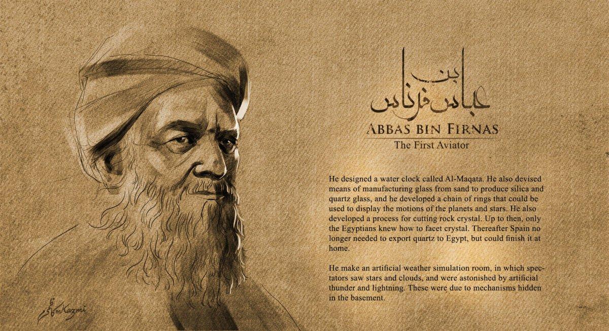 Abbas ibn Firnas, l'homme volant