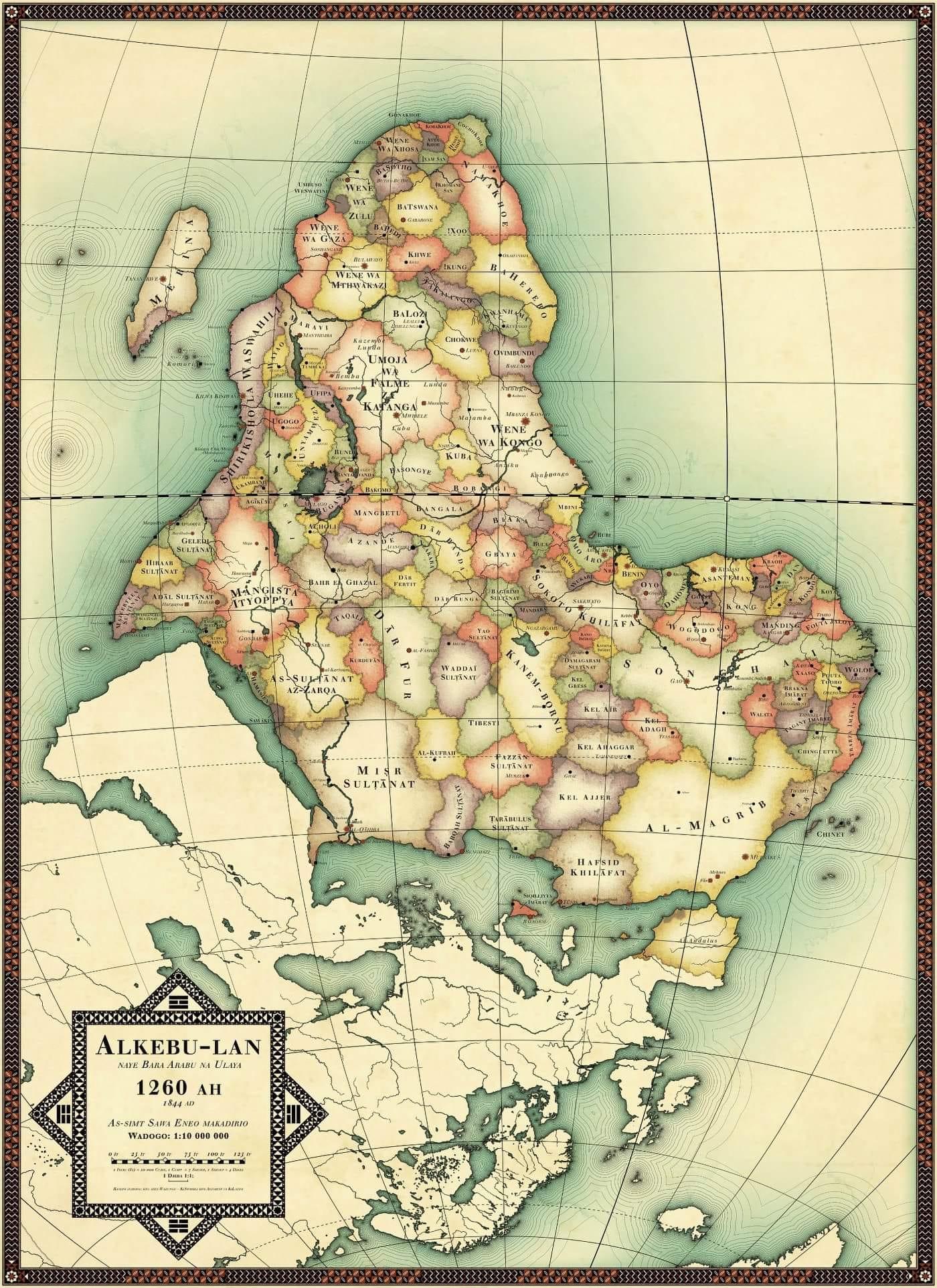 L'Afrique de Nikolaj Cyon