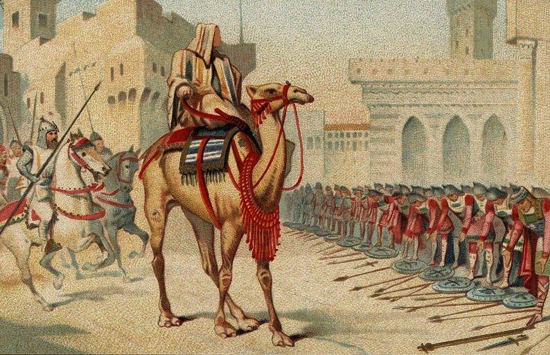 L'arrivée dʿUmar ibn al-Khaṭṭāb à Jérusalem