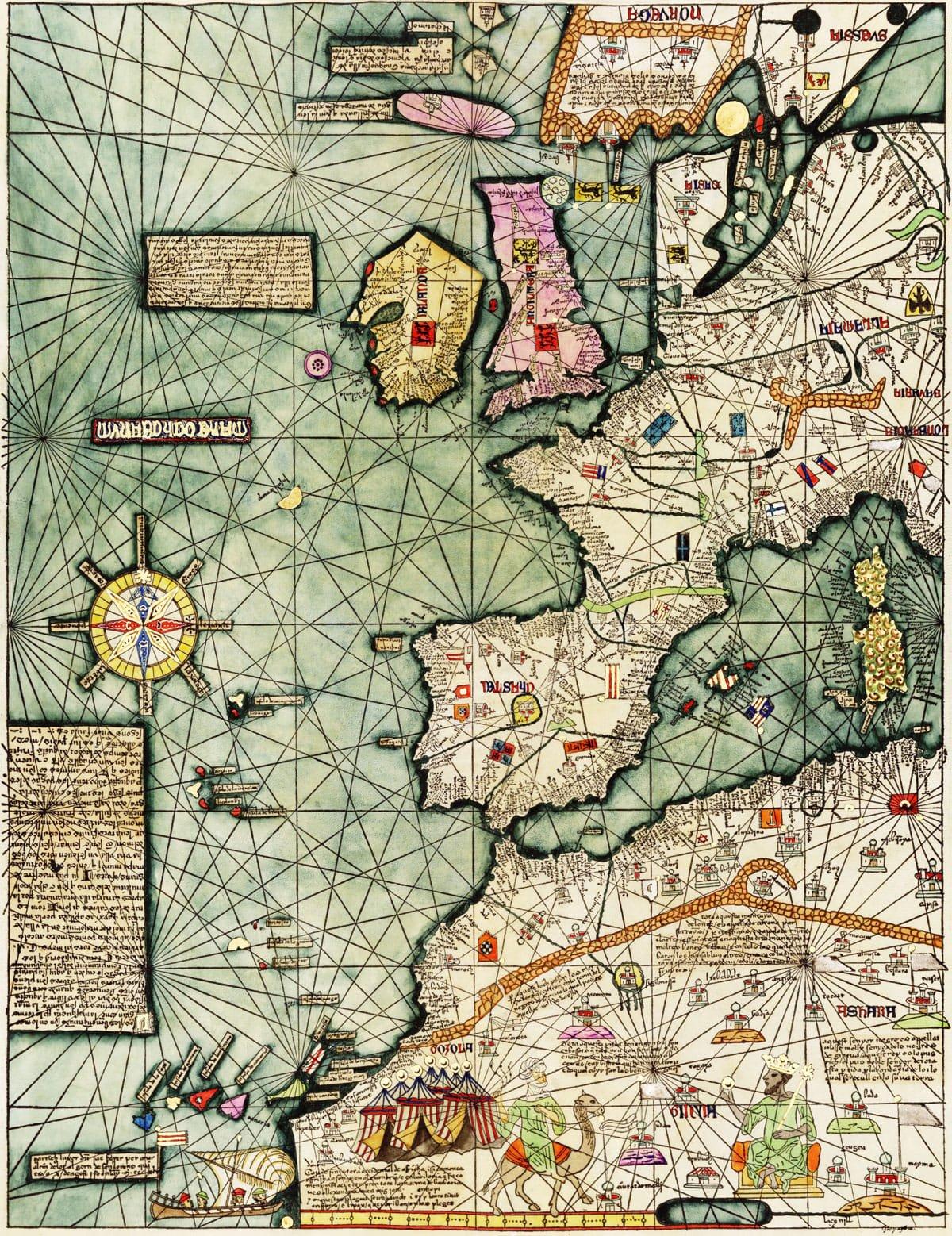 De l'étonnante carte catalane d'Abraham