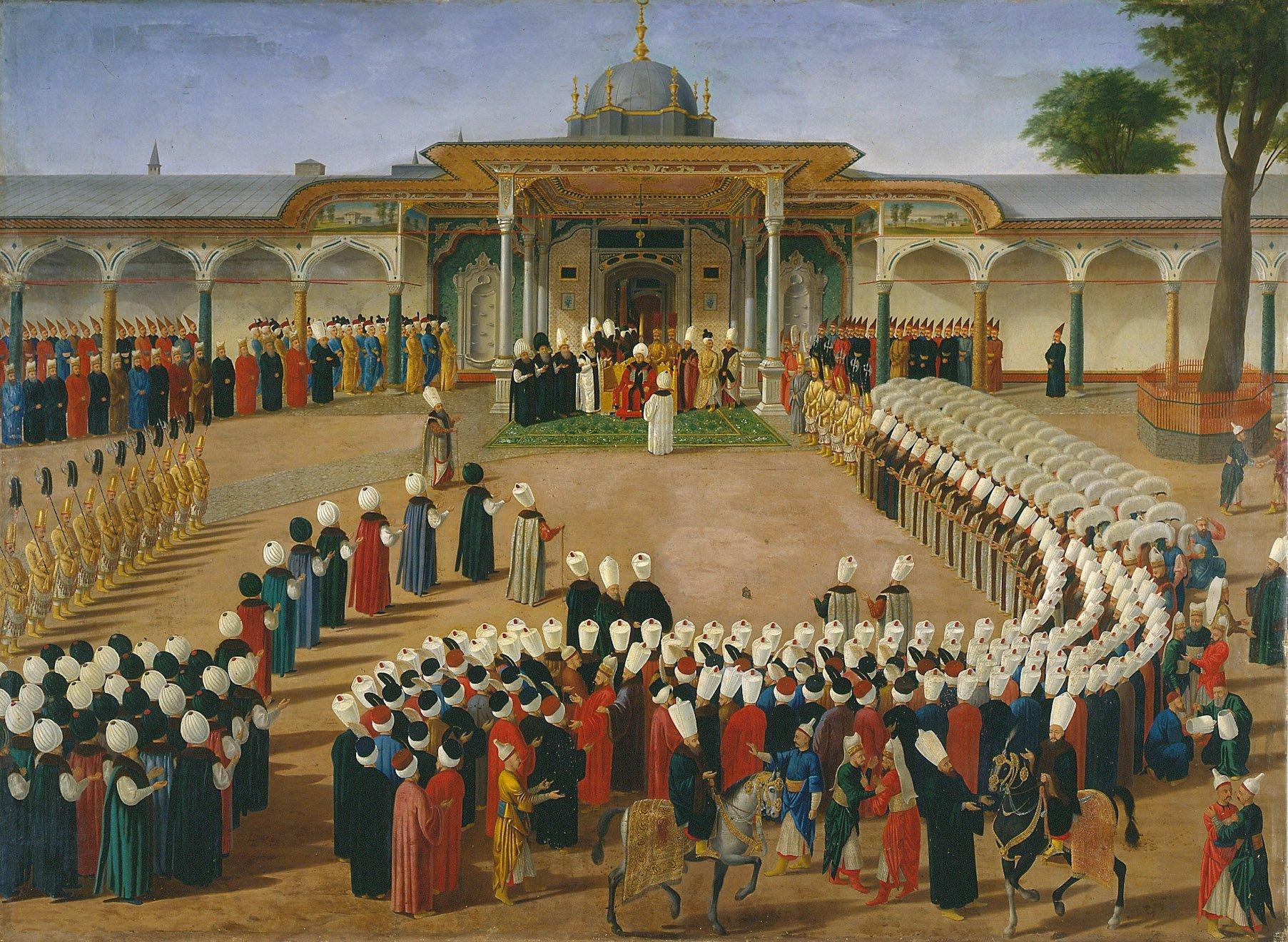 Konstantin Kapıdağlı, le peintre grec de ses Ottomans