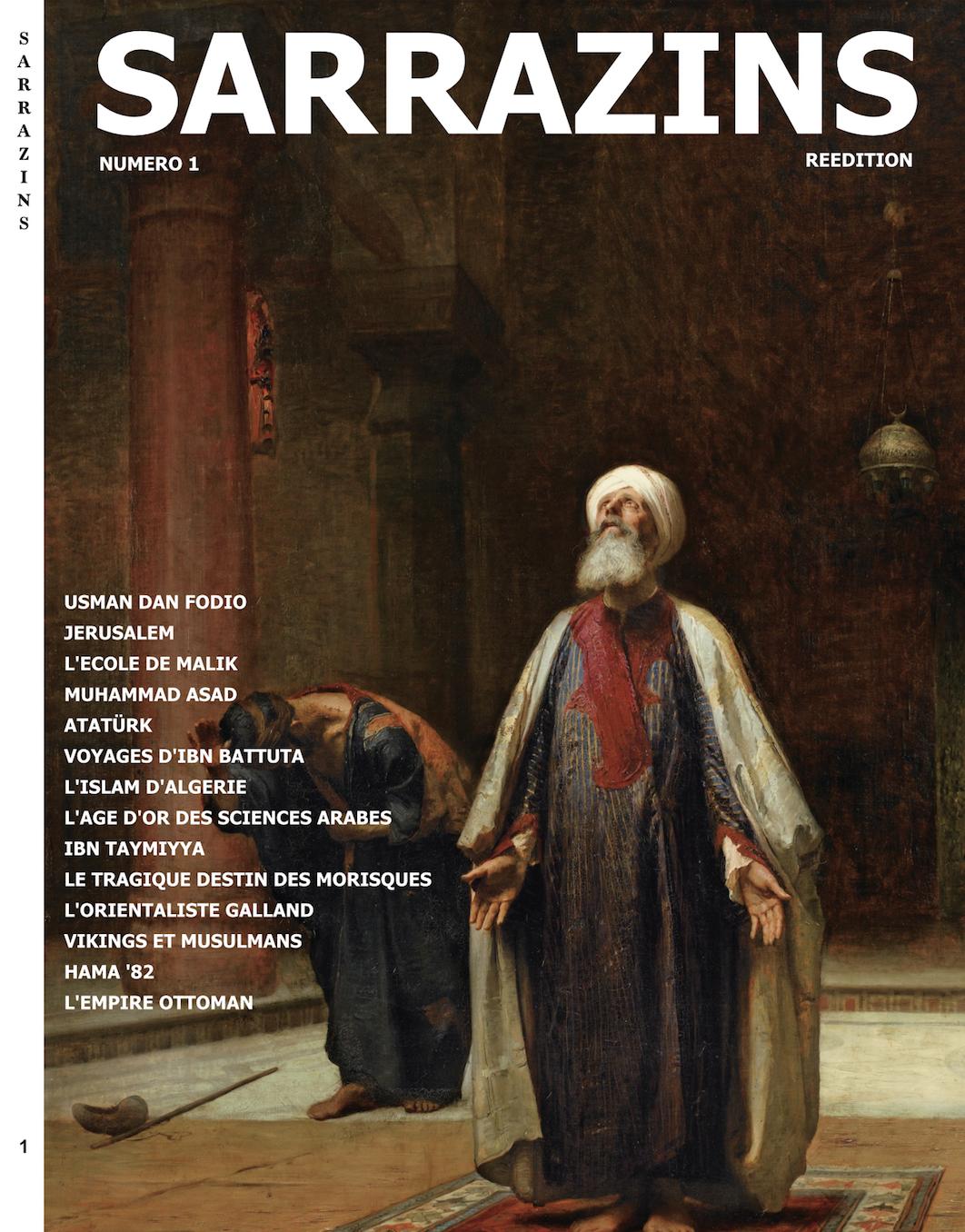 La réédition du N°1 de Sarrazins, bientôt disponible