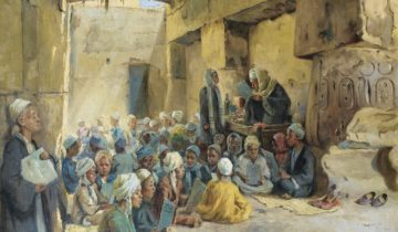 Il était les funérailles de l'imam Aḥmad